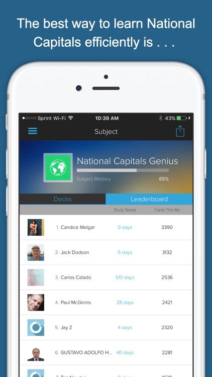 National Capitals Genius screenshot-3