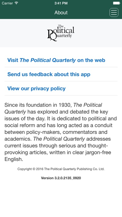 The Political Quarterly screenshot-4