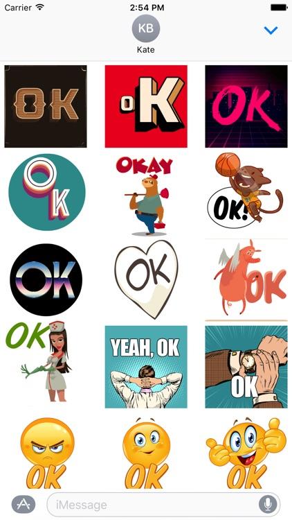 OK Stickers
