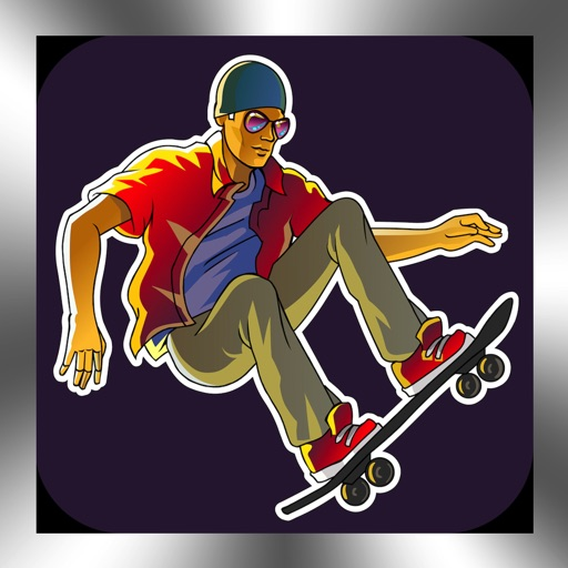 Skateboarding 3D Skater Die Hard Skate Board Game