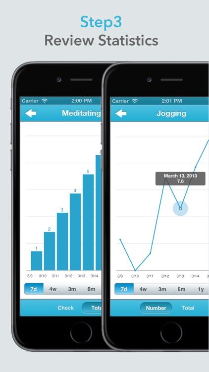 Habit Keeper - Fast Habits Tracker screenshot-3