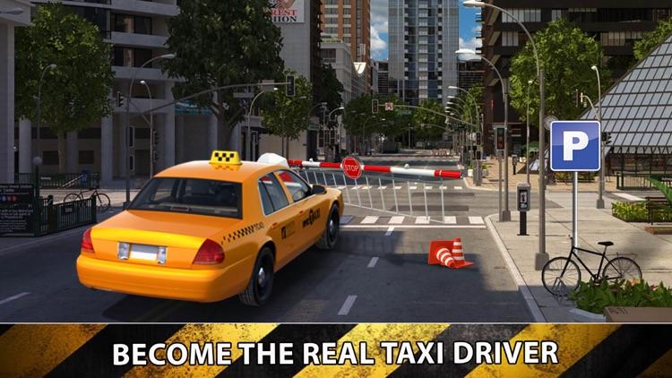 Taxi Sim Driver 2016 - Las Vegas Multi Level Mall Parking Test Simulator screenshot-3