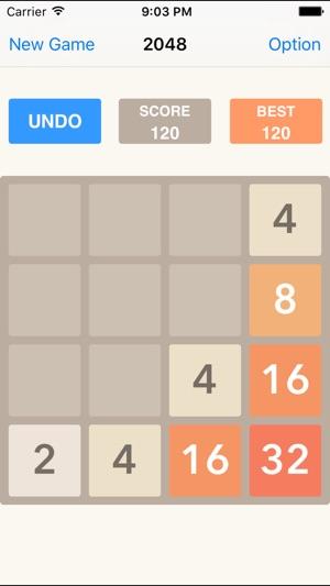 2048 undo