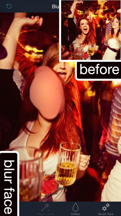 Touch Retouch: Blur Background