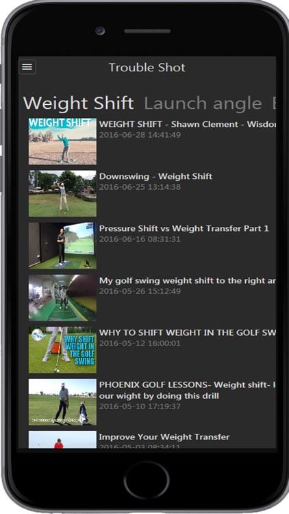 2Buddy - Golf Lesson, Golf Tip, News screenshot-3
