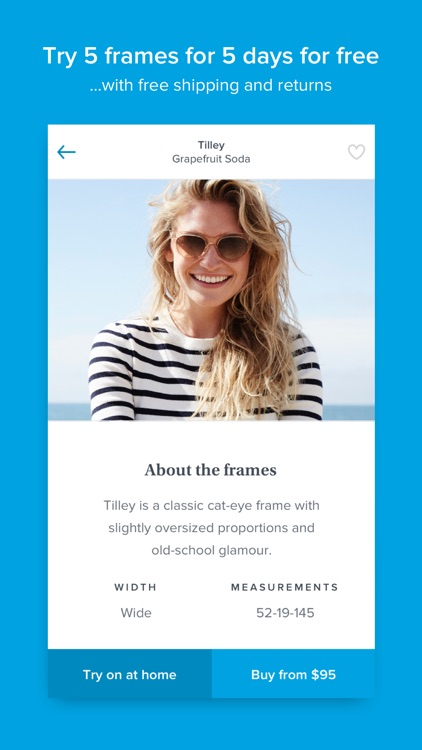Glasses by Warby Parker screenshot-3