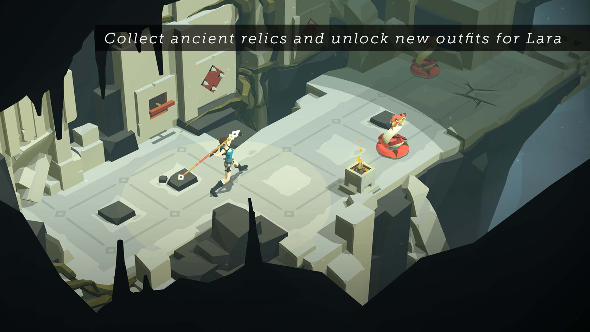 Lara Croft GO screenshot 15