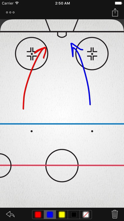 InfiniteHockey Whiteboard