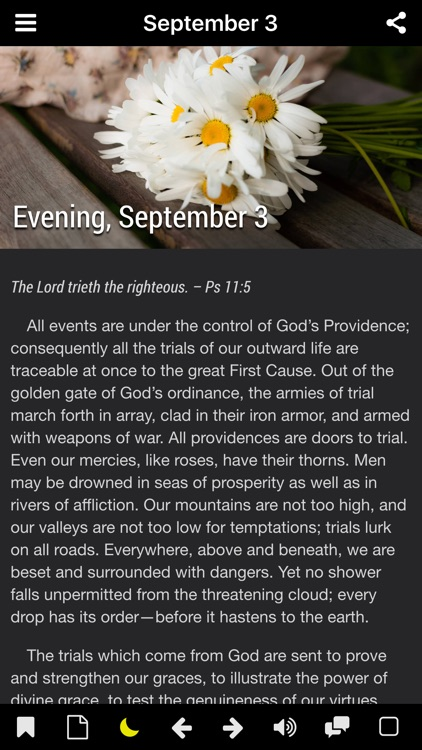 Morning and Evening With God - Daily Devotional (Lite) screenshot-4