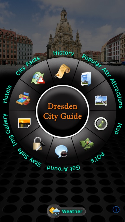 Dresden Offline Map Travel Guide