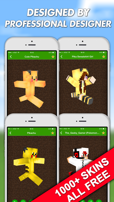 Skins for Minecraft PE (Pocket Edition) & PC Free - for
