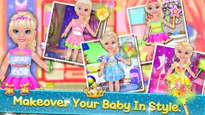 New Born Baby Bathing & Makeover screenshot four