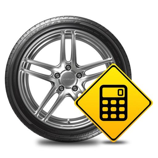 Tire / Rim Size Calculator +