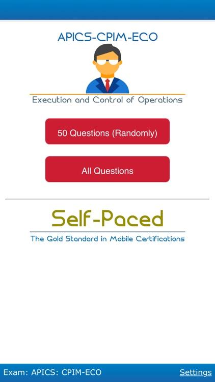 APICS: CPIM-ECO -Certification App