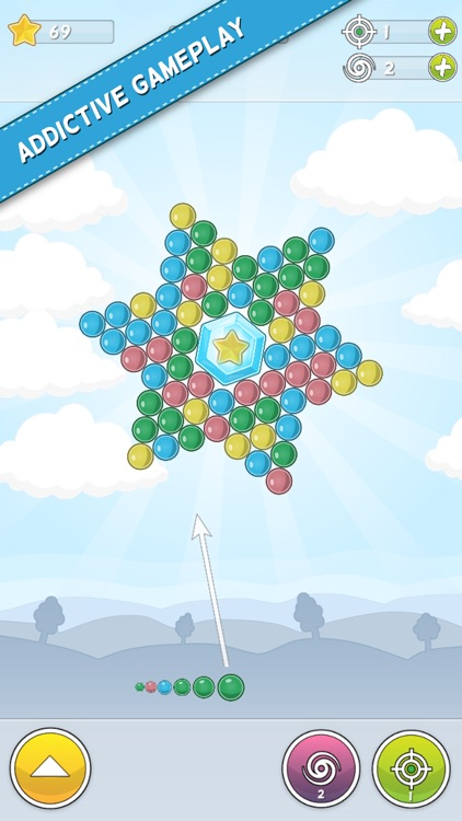 Bubble Cloud: Spinning Bubbles