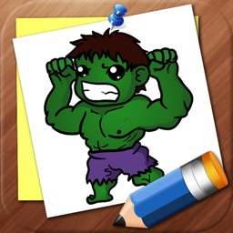 Draw Super Heroes Chibi