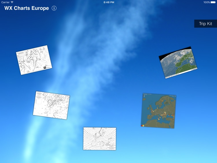 WX Charts Europe for iPad screenshot-1