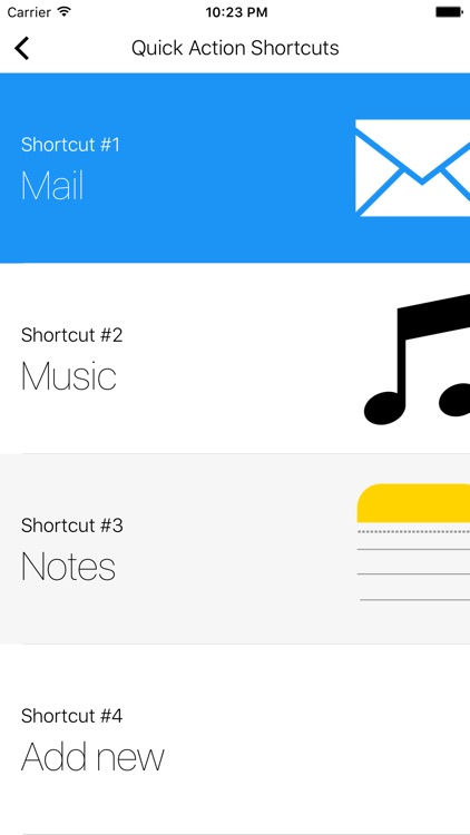 Shortcuts+ (Quick Open) screenshot-3
