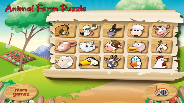 Animal Farm Puzzle