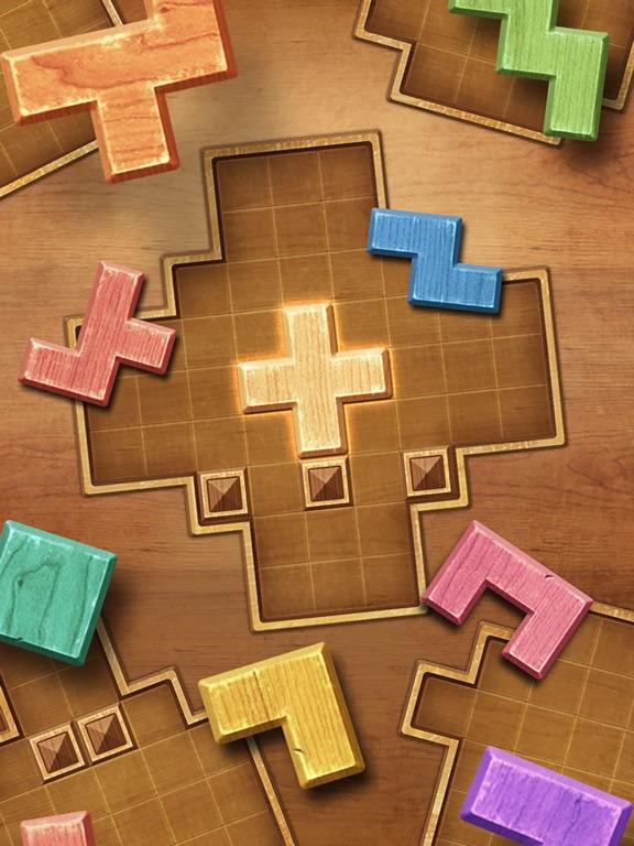 Игра Wood Block Puzzle