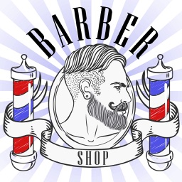 Barber Shop Photo Booth - Hair, Beard & Mustache