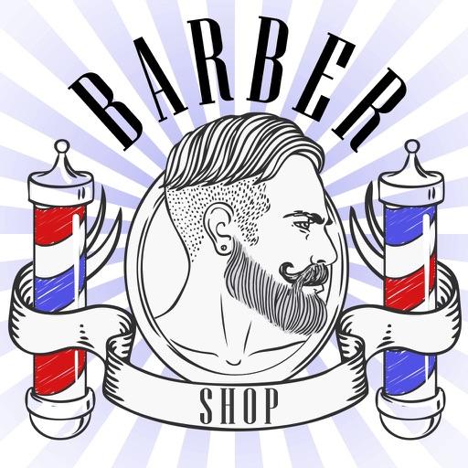Barber Shop Photo Booth - Hair, Beard & Mustache