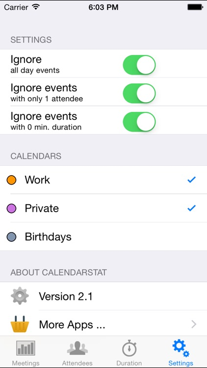 Calendar Statistics screenshot-4