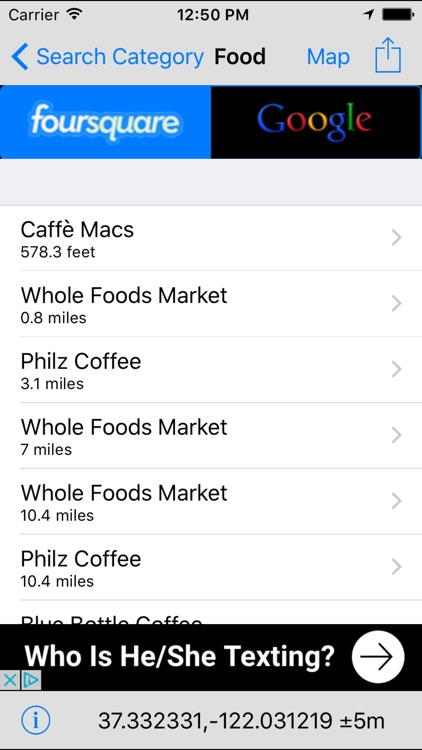 Nearby Food - Restaurant Finder Lite screenshot-1