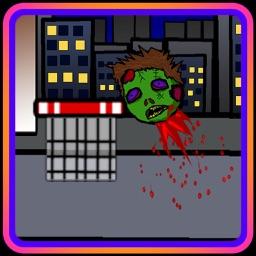 SHOOT THE ZOMBIE HEAD (a halloween basketball shot game)