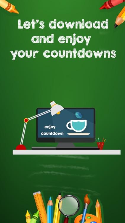 Countdown widget - Fancy styles countdown timer screenshot-4