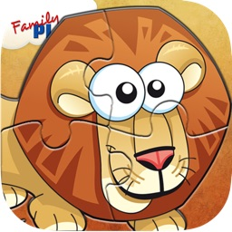 Animal Jigsaw Puzzle: Cartoon Puzzles for Kids