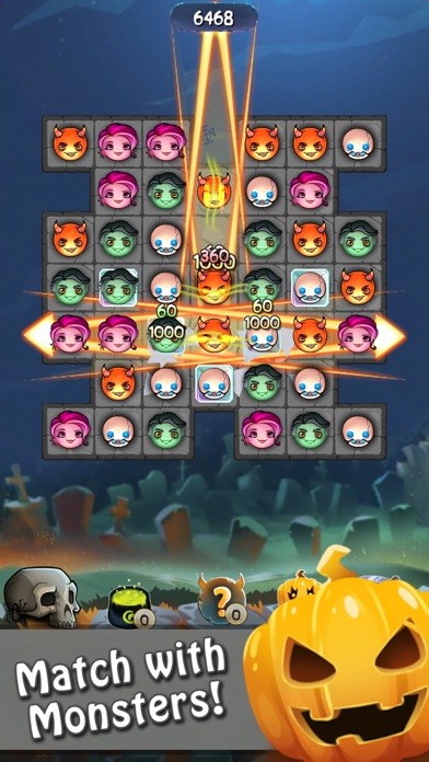 halloween monsters match 3 puzzle game by puzzle games vascogames ios united states searchman app data information