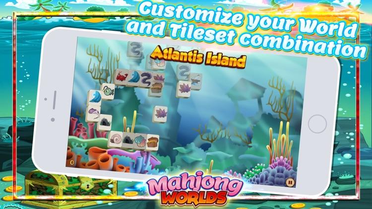 Mahjong Worlds - Tiles Puzzle screenshot-4
