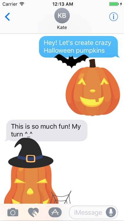 Jack O Lantern Creator Stickers screenshot-0