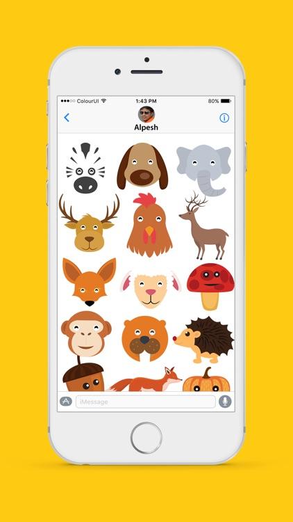 Autumnoji - Autumn Leaf Emoji & Pumpkin Sticker.s screenshot-3