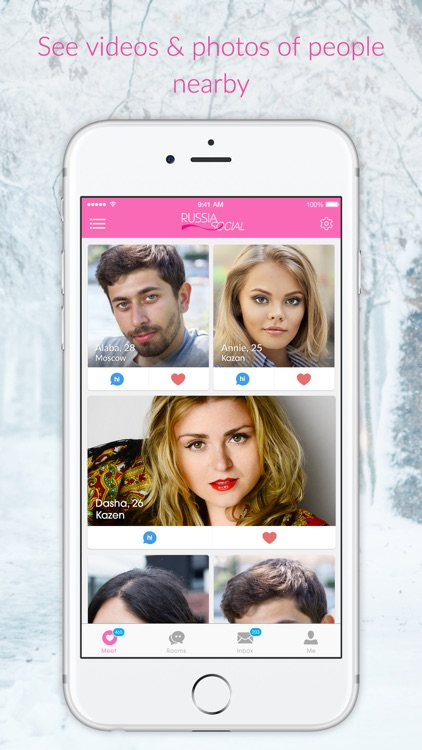 Russia Social - Dating, Chat, Meet Russian Singles