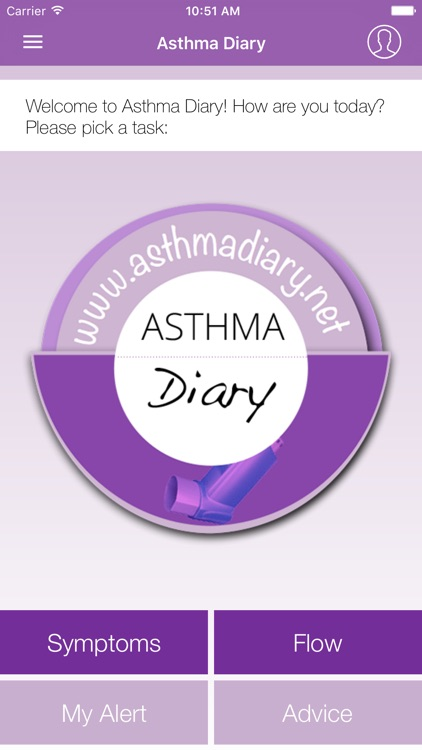 Asthma-Diary screenshot-0