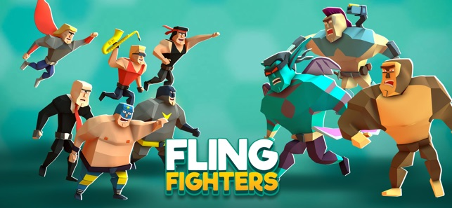 Fling Fighters Screenshot
