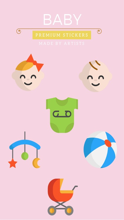 Baby Stickers - Celebrate parenthood