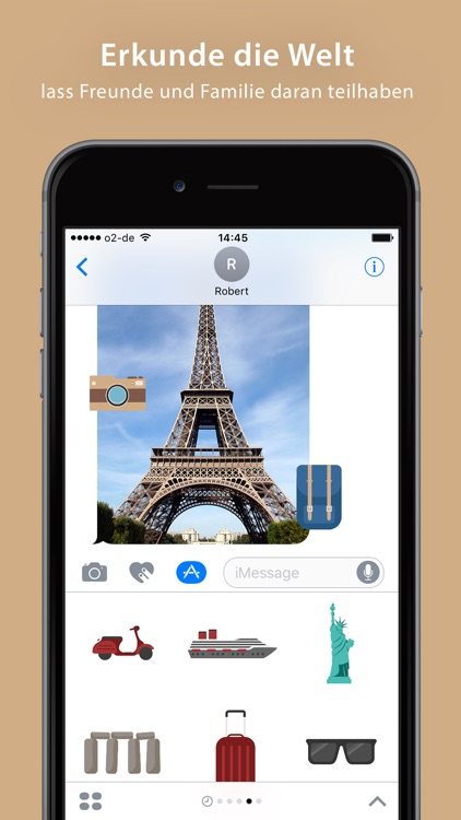 Travel Sticker Pack - iMessage