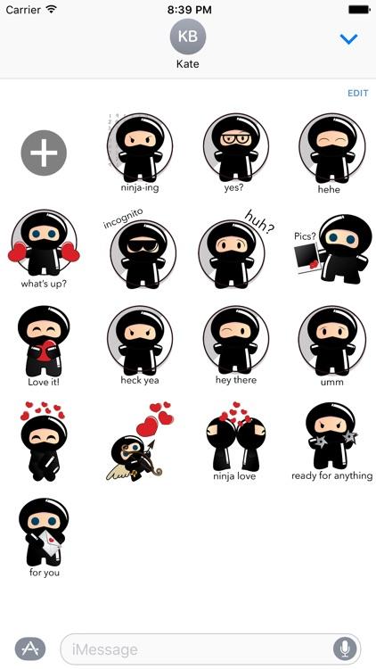 Ninja - MYOSE - Make Your Own Sticker Emoji