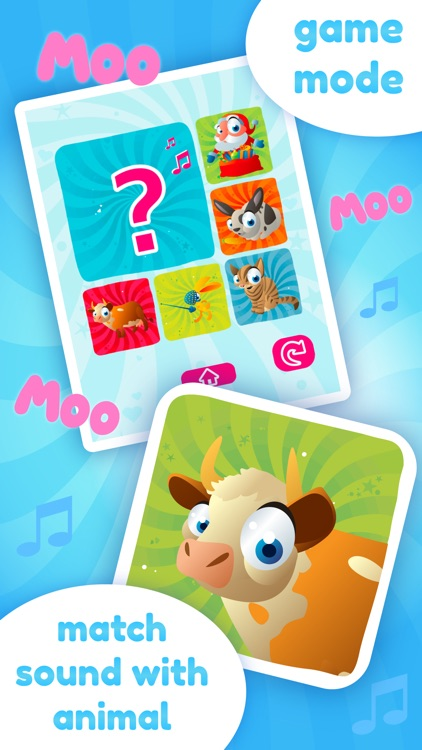 Baby Sounds Game - Learning Game for Kids (No Ads)