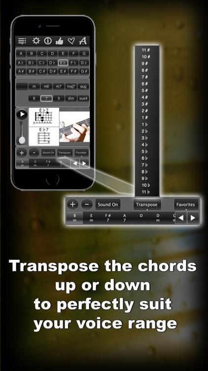 120 Banjo Chords