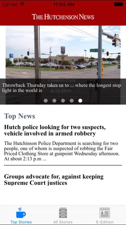 Captivating Hutchinson News Screenshot 1