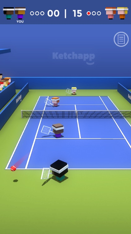 Ketchapp Tennis screenshot-1