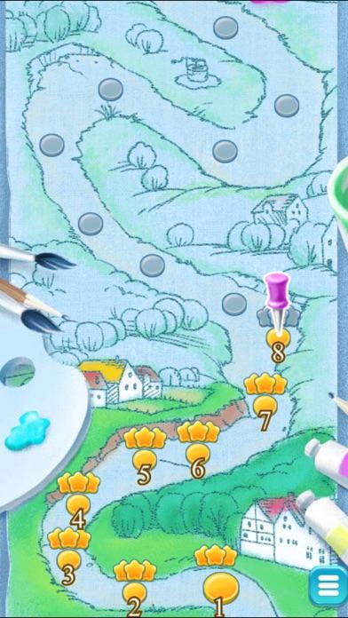 Bubble Blobs Shooter Match Blast screenshot two