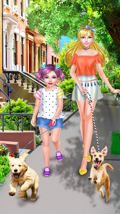 Sweet Sisters Cute Pet Salon - Spa, Makeup & Dressup Game for Girls screenshot-4