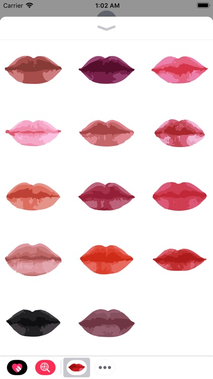 Lip Sticker Pack