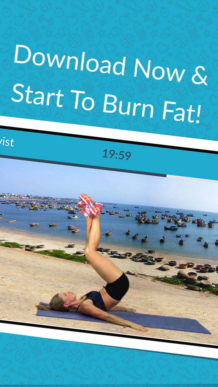 Women Workout: Home Fitness, Exercise & Burn Fat Screenshot