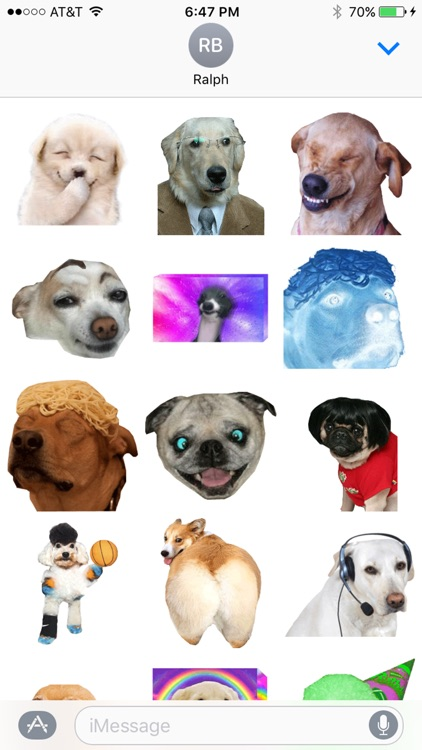 dogdings ~ animated dog stickers for dogs